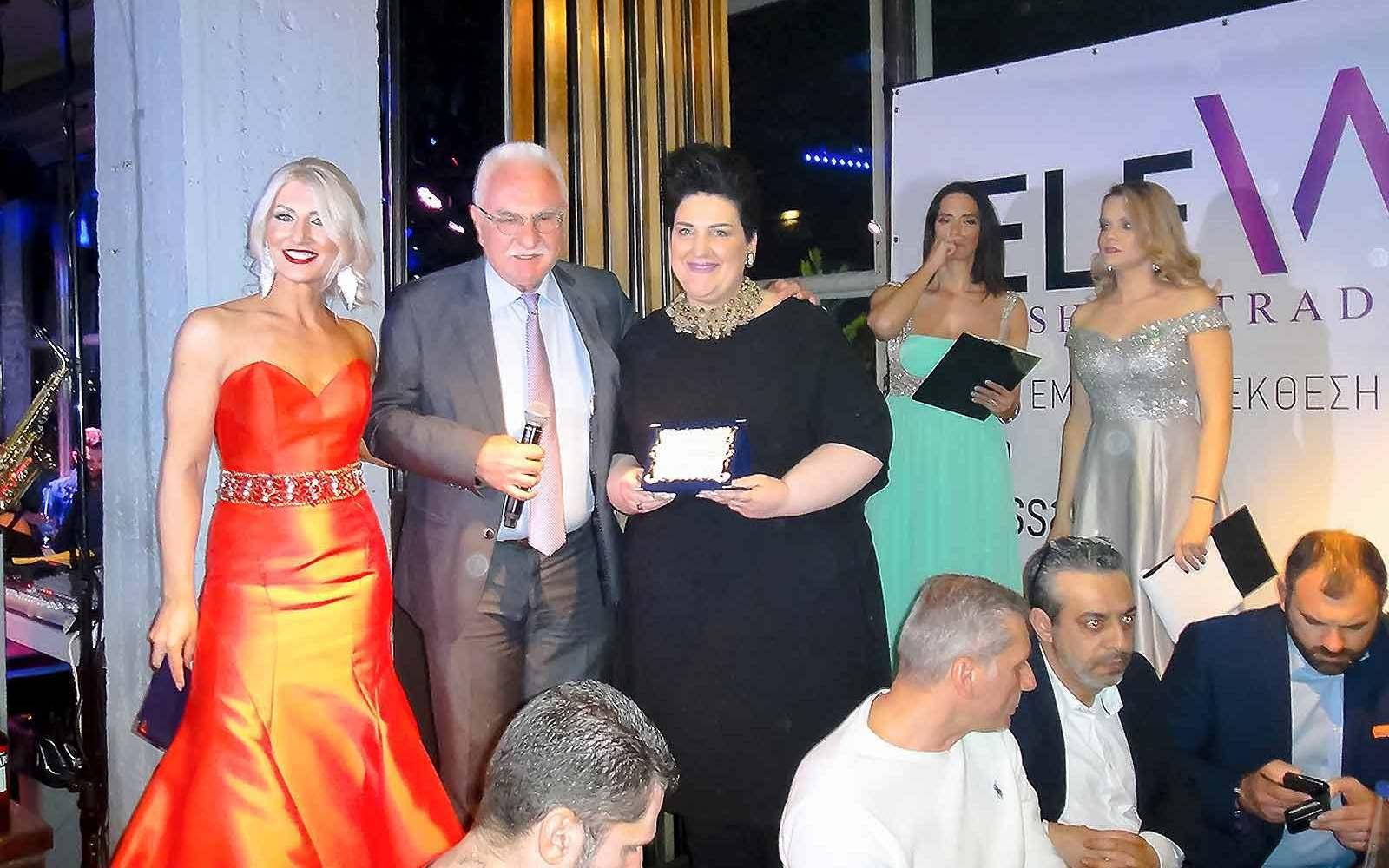 Elevate Fashion Show Βράβευσε ΤηΝ ρογδακη αννα μαρια