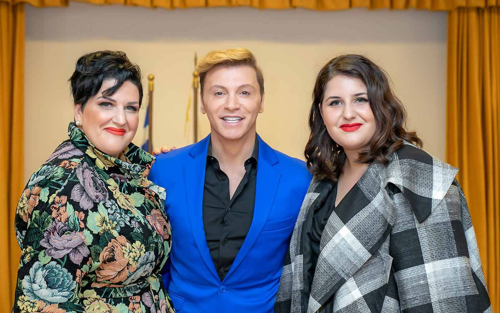 anna-maria-rogdai-president-of-EGYPA-with-Takis-Zaxaratos-and-Dora-Papamichalopoulou