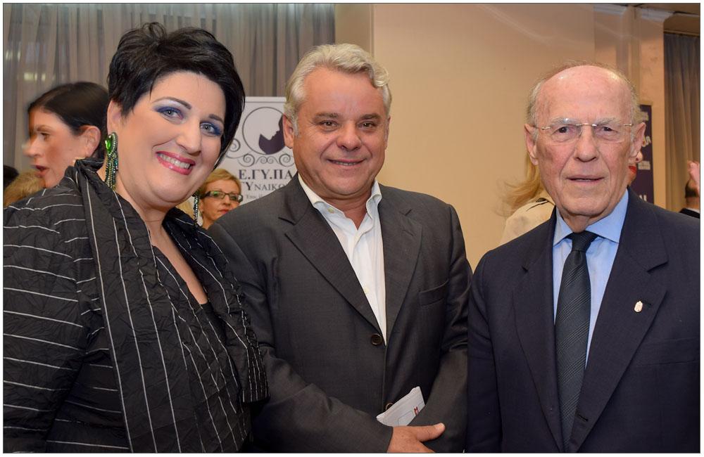 Άννα Μαρία Ρογδάκη με τον Νίκο Δούρο::::Anna Maria Aspioti with niko Douro