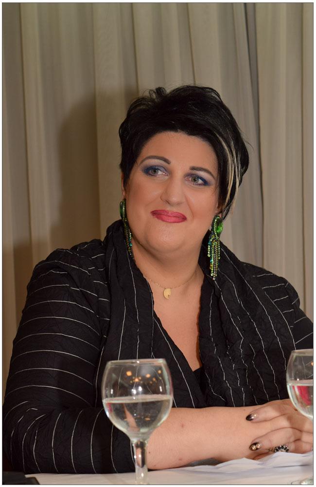 Η Πρόεδρος μας κα Άννα Μαρία Ρογδάκη::::our President mrs AnnaMaria Rogdaki