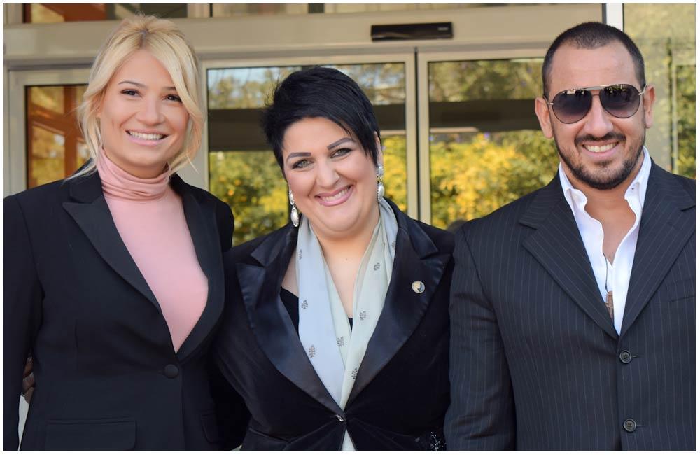Ο Αλέξανδρος Κ. Καλλέργης με την Φαίη Σκορδά και την Πρόεδρο της Ε.ΓΥ.ΠΑ.::::Alexander K.Kallergis with Faye Skorda and The President of Patras Women Union