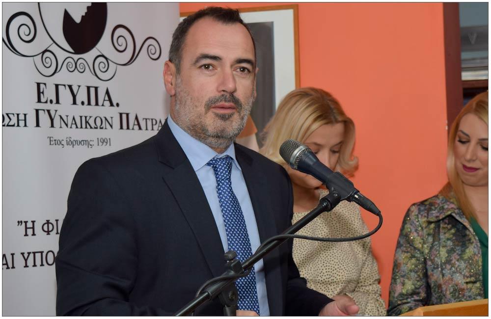 Ανδρέας Κατσανιώτης, Βουλευτής Ν.Δ. Ν. Αχαΐας::::Andreas Katsaniots, parliament member from New Democracy Party, Achaia district