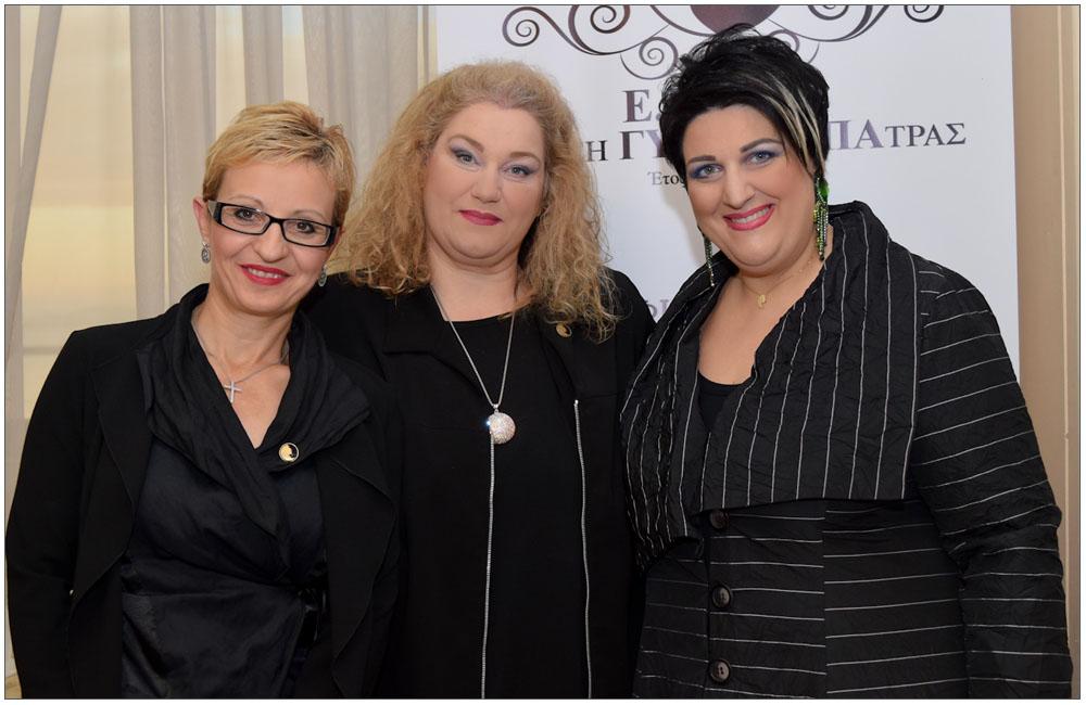 Ελένη Σαράντη, Ρούλα Μιχαλοπούλου, Άννα Μαρία Ρογδάκη::::Eleni Saranti, Roula Mihalopoulou, Anna Maria Rogdaki