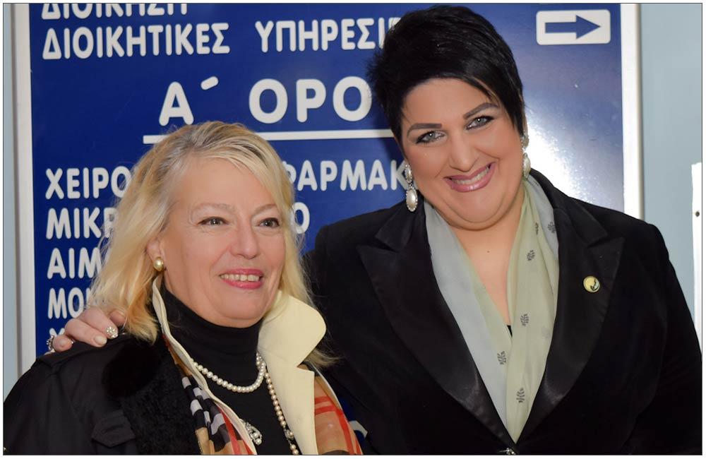 Κατερίνα Γατοπούλου, Άννα Μαρία Ρογδάκη::::Katerina TGatopoulou, Anna Maria Rogdaki