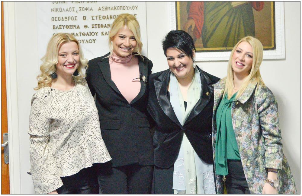 Κων/να Τσεγγενέ, Φαίη Σκορδά, Άννα Μαρία Ρογδάκη, Μαρία Ανδριέλου::::Konstantina Tseggene, Faye Skorda, Anna Maria Rogdaki, Mari Andrielou