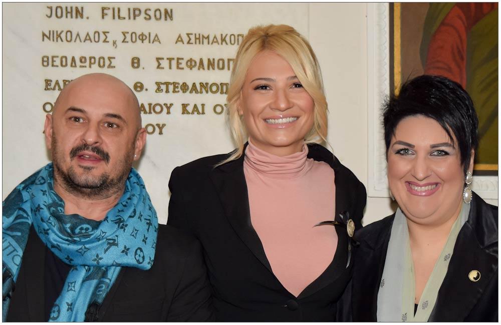 Μαρία Κιούρτη, Φαίη Σκορδά, Άννα Μαρία Ρογδάκη::::Maria Kiourti, Faye Skorda, Anna Mari Rogdaki