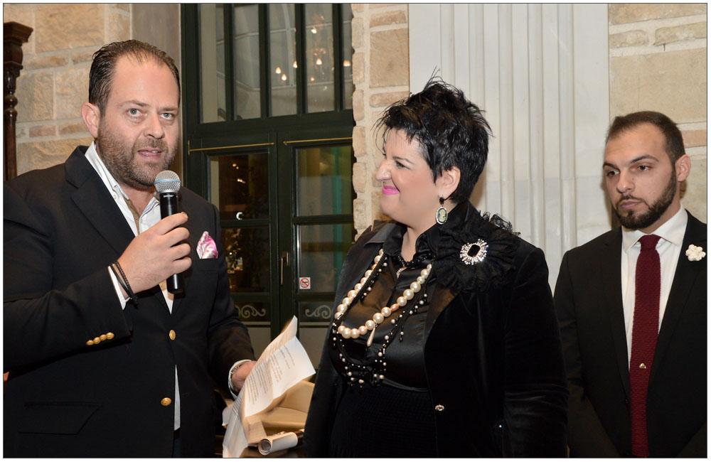 """Ο ιδιοκτήτης της «EUROLINE Shipping & Cargo L.T.D.» κ. Σταύρος Μπακολιάς βραβεύεται για την Προσφορά του στην Ε.ΓΥ.ΠΑ. από την Πρόεδρο:::: The owner of EUROLINE Shipping & Cargo L.T.D."""" mr. Stavros Bakolias was awarded for his contribution to the Patras Women Union from the President"""