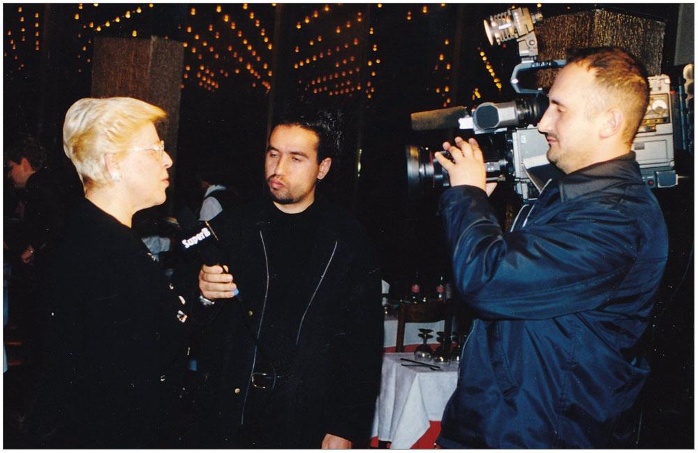 Συνέντευξη στον Τηλεοπτικό Σταθμό SUPERB::::Interview at the television station SUPER B