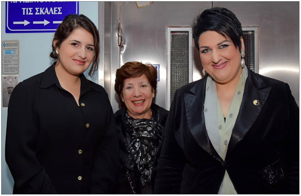 Θεοδώρα Ρογδάκη Παπαμιχαλοπούλου, Γεωργία Μπάρκουλα, Άννα Μαρία Ρογδάκη::::Theodora Rogdaki Papamihalopoulou