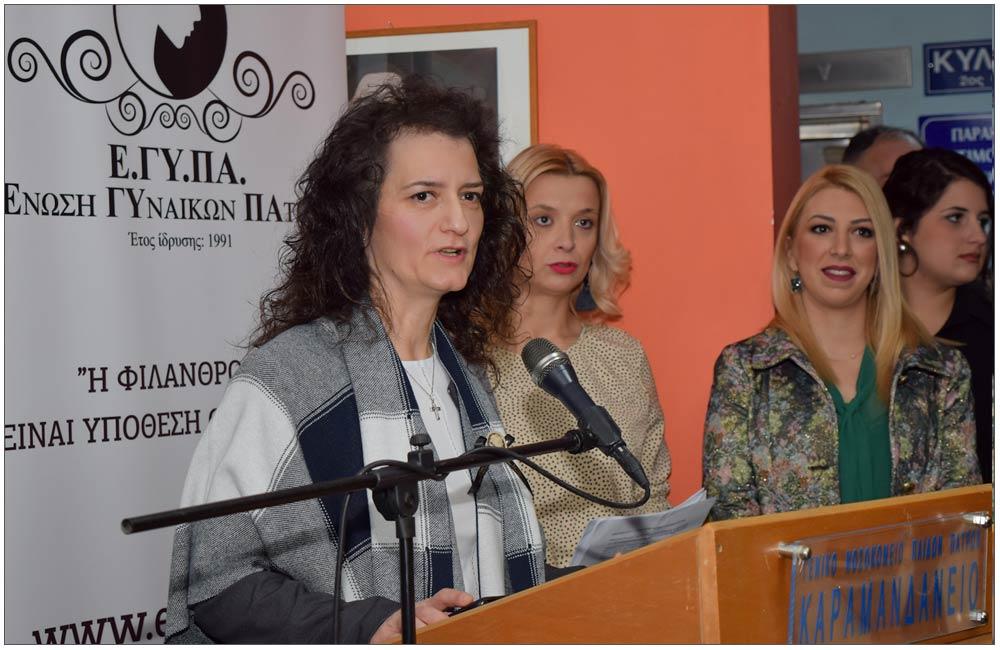 Βασιλική Γεωργιοπούλου, Διοικήτρια Καραμανδάνειου Νοσοκομείου Παίδων::::Vasiliki Georgiopoulou, Karamandanio Children Hospital director