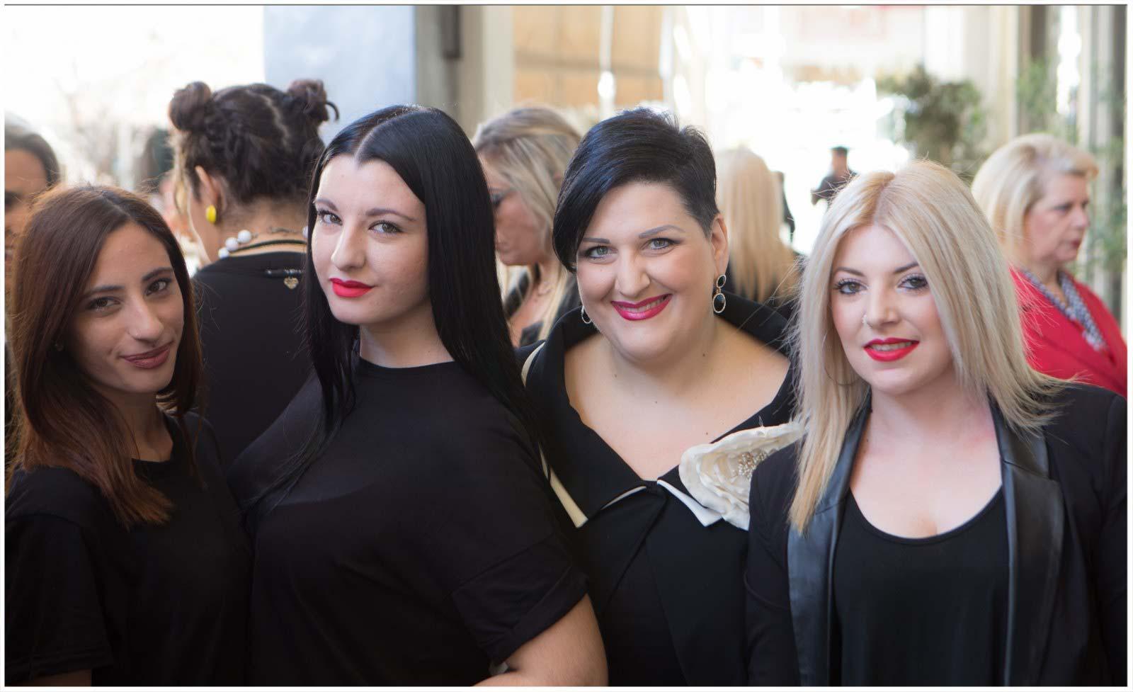 Ιωάννα Γαρώνη, Κωνσταντίνα Γαρώνη, Άννα Μαρία Ρογδάκη, Νίκη Καλογεροπούλου
