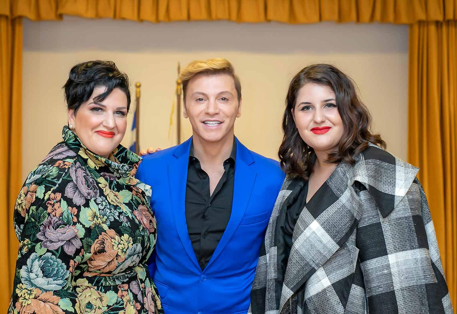 anna-maria-rogdai-president-of-EGYPA-with-Takis-Zaxaratos-and-Dora-Papamichalopoulou